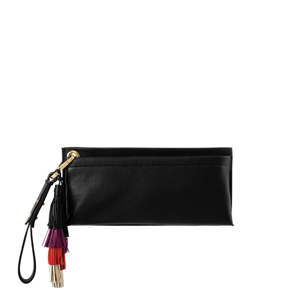 clutch bag twin black