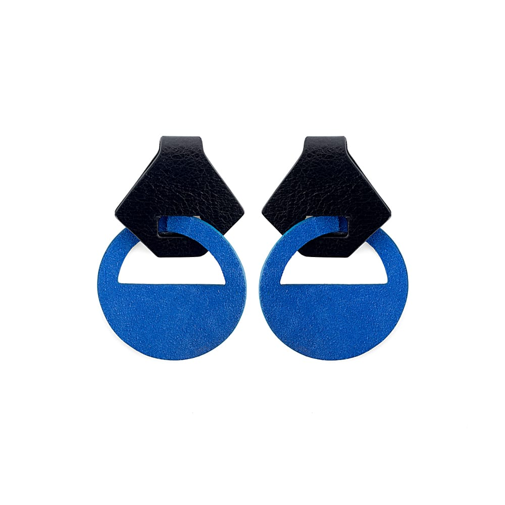 Aretes-Forte-earrings-leather-accesories-787061-blue