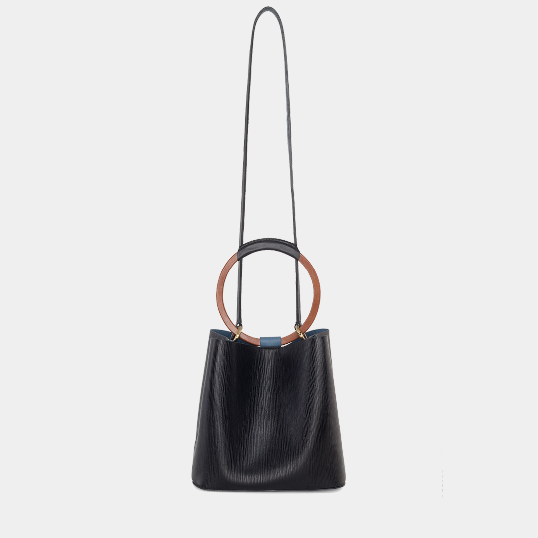 Bolso backet duplo Nora Lozza